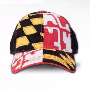 Maryland Curved Brim Flag Hat - NEW